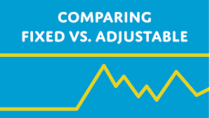 Fixed versus adjustable rates